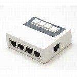 シグマAPO LAN切替器 4系統対応 ホワイト LS41WH