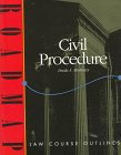 Civil Procedure: Aspen Roadmap Law Course Outline (Roadmap Law Course Outlines)