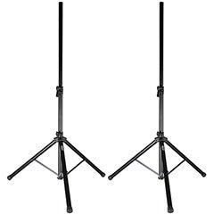 Talent SSGP Gig Pack 5 ft. PA/DJ Tripod Speaker Stand Pair w/Bag from Talent