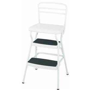 Cosco 11 130wht Chair Stool White Tools Amp Home Improvement