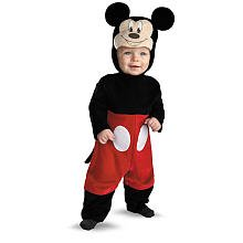 My First Disney Mickey Mouse Halloween Costume - Infant Size 6-12 Months