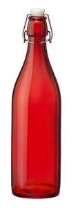 Bormioli Rocco Giara Bottle Red Set of 6