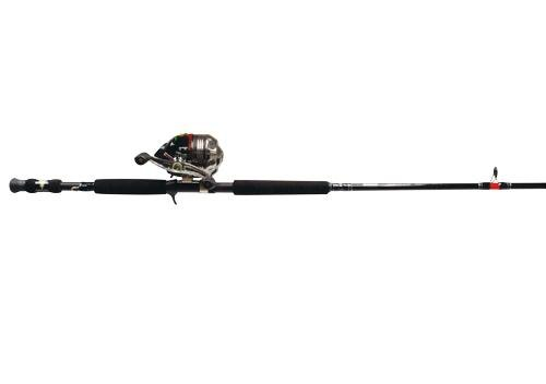 Zebco HAWG SEEKER/702MH WithBITE ALERT SC Fishing Rod and Reel Combo