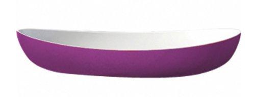 Kdg International Omada Trendy Oval Serving Platter, Large, Plum