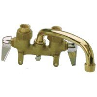 Mueller/B & K 125-001 2-Handle Laundry Faucet