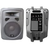 Pyle-Pro PPHP1098A 600 Watt 10'' 2-Way Plastic Molded Powered PA speaker System ~ PylePro