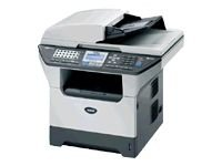 Brother MFC 8860DN - Multifunction ( fax / copier / printer / scanner ) - B/W - laser - copying (up to): 28 ppm - printing (up to): 28 ppm - 250 sheets - 33.6 Kbps - parallel, Hi-Speed USB, 10/100 Base-TX