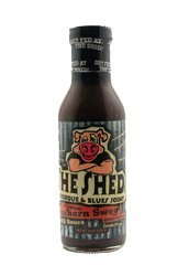 The Shed Spicy Vinegar BBQ Sauce 14 Oz (Pack Of 6)