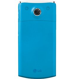 LG GD570 dLite Lollipop Unlocked GSM QuadBand Cell Phone with 2 MP Camera, Bluetooth, FM Radio, and MP3 Player – No Warranty – Sky Blue