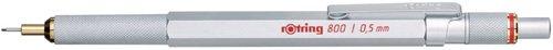 ロットリング 800シリーズシャープ・シルバー 0.5mm シルバー S0502815N
