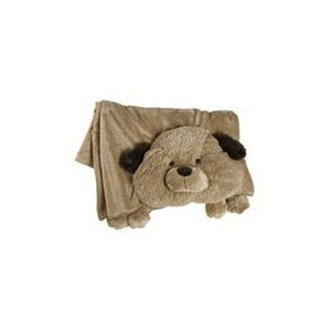 Animal Pillow Blanket : Amazon.com: The Original My Pillow Pets Dog Blanket (Brown): Toys & Games