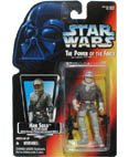 Star Wars, The Power of the Force Red Card, Han Solo in Hoth Gear Action Figure, 3.75 Inches