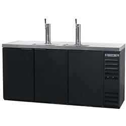 Beverage-Air Dd68-1-B Direct Draw Draft Beer Dispenser, 3 Keg Capacity, 2 Tower