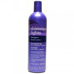 Clairol Professional Shimmer Lights Shampoo Blonde & Silver,16 Fl.Oz back-212338