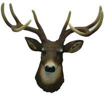 8 Point Buck Deer Head Bust Wall Hanging (Singing Deer Head compare prices)