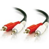 C2G / Cables to Go 40465 RCA Audio Cable (12 Feet, Black)