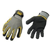 CatGloves&SafetyCompany Glove Coated Palm Knit Back L, Sold as 1 Pair