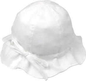 プチボヌール ピケハット ホワイトUV S