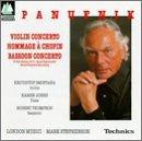 Andrzej Panufnik: Violin Concerto / Hommage à Chopin / Bassoon Concerto