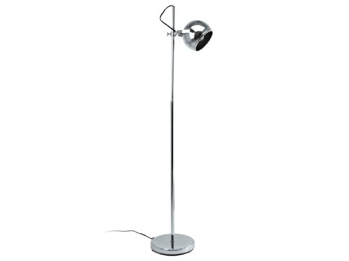 Leitmotiv Floor Lamp, Retro, Chrome
