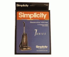 Simplicity HiFlow HEPA Type B Bags (6 Genuine Bags) - S7-6 (Simplicity Series 6 Vacuum Parts compare prices)