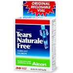 Alcon Tears Naturale Free Lubricant Eye Drops, 36 Single Use Vials, Mild/Moderate Dry Eye (Packaging May Vary)