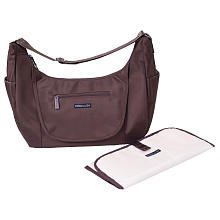 Lillebaby Stockholm Diaper Bag in Chocolate Brown