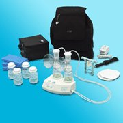 Ameda Purely Yours Breast Pump With Back Pack 1