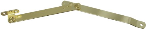 National Hardware Dpb1890L Folding Supports In Brass front-747860