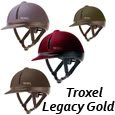 Troxel Legacy Gold Duratec - Equestrian Helmet