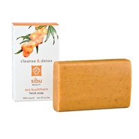 Sibu Cleanse & Detox Sea Buckthorn Facial Soap, 3.5-Ounce