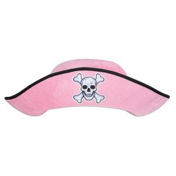 Pink Felt Pirate Hat - Adult Party Accessory (1 count)