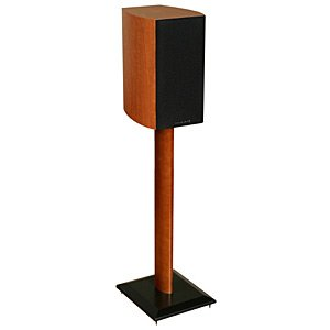 Sanus Systems Nf30C Natural Foundations 30 -Inch Speaker Stand, Pair (Cherry)