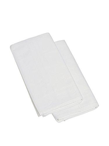 Ipersan Coppia Federe 3 volani bianco 52x83
