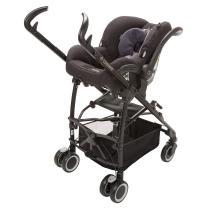 Mico Nxt clicks easily into Kaia stroller frame