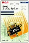 RCA VH47N 2-Way Signal Splitter (Discontinued by Manufacturer)
