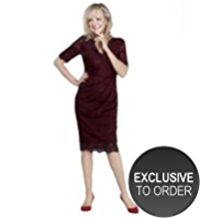 Twiggy for M&S Collection Floral Lace Dress