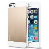 SPIGEN SGP SGP10570 Case Saturn for iPhone 5S/S - Retail Packaging - Champagne Gold