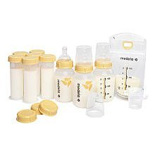 Medela Value Pack Bpa-free Feeding Gift Set : New Wide Base Nipple