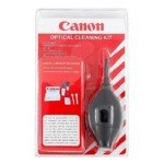 Canon Optical Cleaning Kit For All Digital And Film Camera Lenses Binoculars And Lcd Screens (Black)