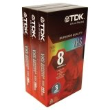 TDK Superior Quality VHS Video Tape