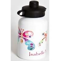 Girls Drinks Bottle,Personalised400ml,,Water Bottle,Butterfly