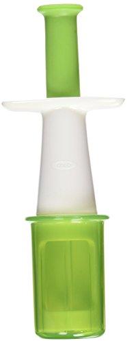 OXO Tot Grape Cutter, Green (Oxo Grape Tomato Slicer compare prices)