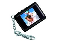 Coby 1.5-Inch Digital Photo Key Chain (Black)