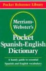 Merriam-Webster's Pocket Spanish-English Dictionary (Pocket Reference Library), Buch