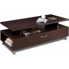 Nexera Eclipse Rectangular Coffee Table in Rich Dark Espresso