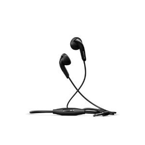 Sony Ericsson Mh410 Stereo Headset With Microphone And Answer/End Button For Cell Phones- Black (Bulk Packaging)