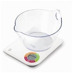 Tefal BC5060 Easy, Blanco - Báscula de cocina