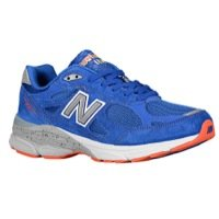 New Balance Men's M990v3 Running Shoe,Blue/Orange,9.5 D US