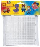 Hama Beads - Square & Round Pegboard Large (Midi Beads)